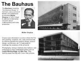「Bauhaus established in 1919」の画像検索結果