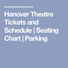 Hanover Theater Worcester Seating Chart The Music Man Theater Tickets Theatre Ticket Boxes