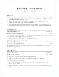 Easy Resume Templates Free Amazing Resumes In 24 Resume New Format Resume Samples 24 Word
