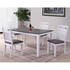 rectangular dining tables wood. melbourne island two tone rectangular dining table in white/dark wood tables