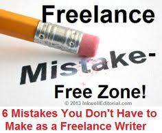 downsides to lance writing job sites and how to deal   lance writers are any of these 6 mistakes costing you money