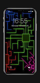 Neon Circuit iPhone Wallpapers - Top ...