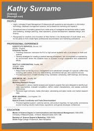 10 Resume Title Samples Letter Signature