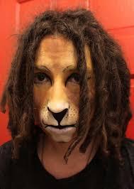 lion face paint by eggmonkey