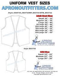 American Made Aprons Cobbler Aprons Uniform Vests Amd Chef