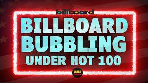Billboard Chart December 2013 Billboard Bubbling Under Hot 100 Top 25 June 15 2019 Chartexpress