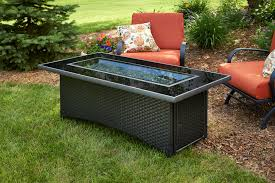 glass fire pits outdoor