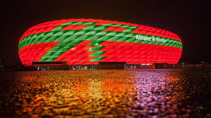Bayern Munich Stadium Lights Advent Lighting For The Allianz Arena Fc Bayern Munich