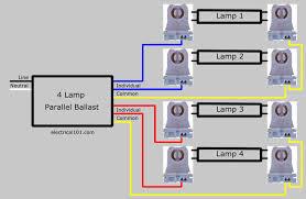 4lamp parallel ballast lampholder wiring diagram parallel ballast lampholder wiring electrical 101 t12 ballast wiring diagram