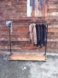 heavy duty clothes racks wooden clothes rack furniture interior uncategorized chic rustic