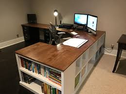 office computer desk. Cubby/Bookshelf/Corner Desk Combo - DIY Projects Office Computer S