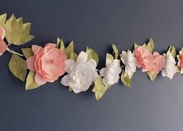 Paper Flower Garlands Paper Garland Wallpapers High Quality Download Free