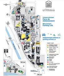 parking maps parking and sustainable transportation university Carleton University Parking Map screenshot of uottawa parking map Carleton University Blank Map