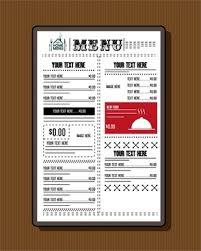Restaurant Menu Template Free Vector Download 20 244 Free