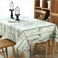 round kitchen tablecloths round kitchen table cloth retro wood grain style rectangle tablecloth cotton linen table round kitchen tablecloths