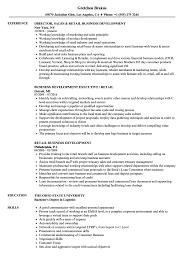 Retail Business Development Resume Samples Velvet Jobs