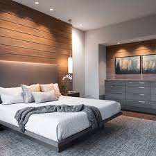 Interior design bedroom modern Simple Large Minimalist Master Dark Wood Floor And Brown Floor Bedroom Photo In Other With Beige Walls Houzz 75 Most Popular Modern Bedroom Design Ideas For 2019 Stylish