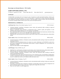 Awesome Collection Of Sample Audit Resume Cv Cover Letter Hotel