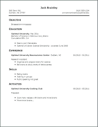 How Do You Make A Resume For A Job How To Make A Resume For A Job