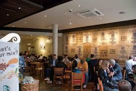 busy starbucks interior. Exellent Interior Big Interior At Starbucks On Busy Interior M