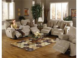 Wall Decoration Brown Leather Sectional Sofas With Recliner And Coffee Table Ideas For Reclining Sofa