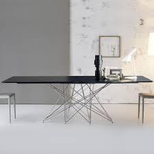 Octa Mit Chromgestell Tisch Von Bonaldo