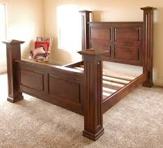 Custom Made Newel Post Bed by Terry's Fine Woodworking | CustomMade.com