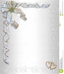 Border Designs For Wedding Programs Wedding Invitation Border Satin Stock Illustration