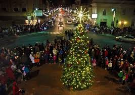 Hurst Tree Lighting Bright Lights Big Displays For Christmas Kentucky Living