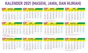 Kalender indonesia tahun 2021 didasarkan pada tata surya menurut waktu, dan terdiri dari 12 bulan dan 365 hari. Kalender 2021 Lengkap Tanggalan Jawa Hijriyah Libur Nasional Pdf Iqra Id