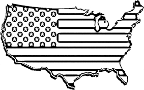 Small Picture American flag coloring pages usa map ColoringStar