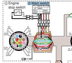 yamaha ftlrd here is a wiring diagram this will help explain how it works