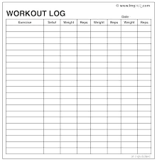 Daily Workout Journal Daily Workout Routine Template Archives Daily Workout