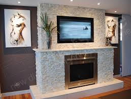 gallery of feature wall for fire place using stone cladding with fireplace feature wall