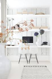 stunning feng shui workplace design. White Beautiful Office - Wall Shelf Storage. Wunderschönes Helles Büro Stunning Feng Shui Workplace Design R