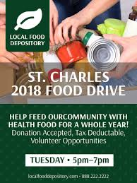 Food Drive Posters Food Drive Poster Template