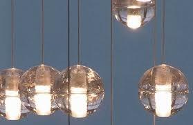 bocci led pendant light elegant 14 5 clear
