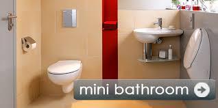 small bathroom maximum comfort