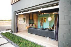 remote garage door off living room