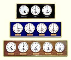 time zone wall clock world time zone wall clocks clocks digital time zone clocks multiple zones time zone wall clock