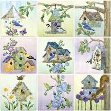 87 best Birdhouse quilts and patterns images on Pinterest | Quilt ... & Birdhouse Quilt ... I'd love to buy the kit from Keepsake Quilting Adamdwight.com