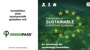 GREENPASS GmbH - ✓ IST deine Immobilie EU KLIMAFIT? 🌍 GREENPASS ermöglicht  die Analyse & Prüfung von Immobilien hinsichtlich EU Taxonomie 🇪🇺 in Form  eines Klimachecks ✓ und unterstützt eine nachhaltige &