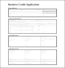 New Customer Account Form Customer Credit Application Form Template New Customer Form Template