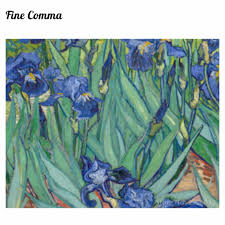 irises les iris 1889 by vincent van gogh hand painted oil painting reion replica wall art canvas painting repro copy home in painting calligraphy