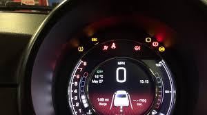 Fiat 500 Esc Light Fiat 500 Tpms Reset Youtube
