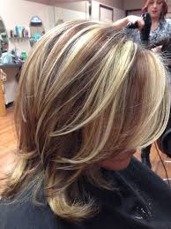 Red Brown Lowlights And Highlights Kapsels Met Highlights