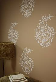 Painting Patterns On Walls Bedroom Wall Painting Ideas