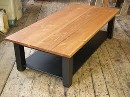 coffee table with a shelf