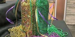 diy mardi gras party decor