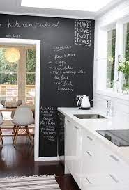 25 cool chalkboard kitchen decor ideas